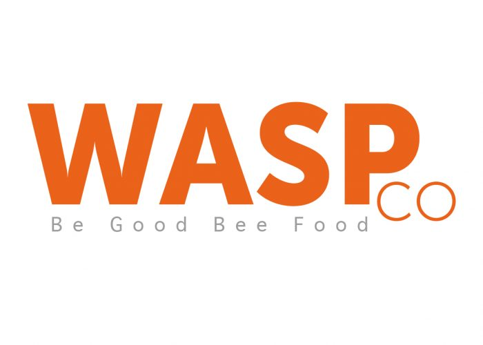 Wasp Super Snacks Logo